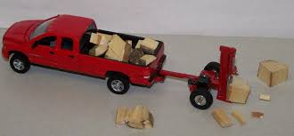 C025 1/64 Load of Split Firewood | Action Toys