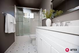 bathroom remodel sacramento. Interior Designer Katrina Stumbos, Owner And Founder Of Four Design In Sacramento, Calif., Was Asked To Renovate This Hall Bathroom For Clients Who Had Just Remodel Sacramento M