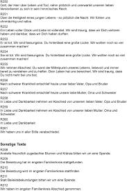 Musterbuch Für Trauersprüche Pdf