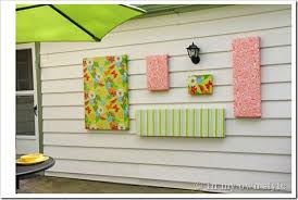 There are 327992 outdoor wall decor for sale on etsy, and they cost 58,67 $ on average. How To Make Outdoor Wall Art In My Own Style
