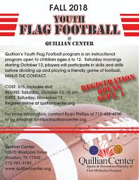 Youth Flag Football - Quillian Recreation Center