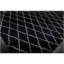 black moroccan rug black and white moroccan runner rug