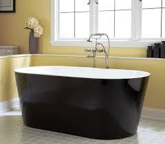 image of painting bathtub black elegant