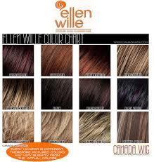 Wig Color Chart Codes Ellen Wille Wig Color Chart