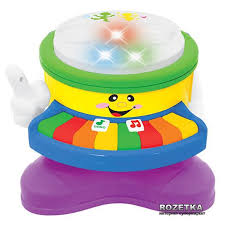 Развивающая игрушка Kiddieland <b>Веселый</b> оркестр (<b>свет</b>, звук)