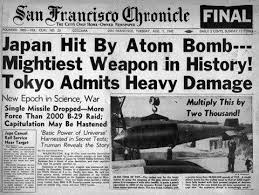 Image result for 1945, the u.s. drops an atomic bomb on the japanese city hiroshima.