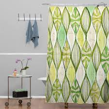 cori dantini green shower curtain