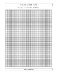 Fillable Online Graph Paper 0 25 Cm Graph Paper With