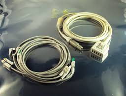 2418831-2 cable: ecg cable - usa (americas) for ge vivid i