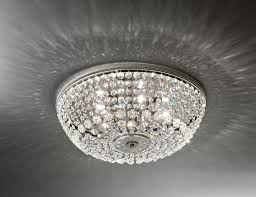 Swarovski crystal lighting Hanging Ceiling Lights 1015 We Got Lites Nella Vetrina Italamp 101530 Swarovski Crystal Ceiling Light