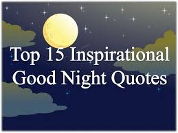 Inspirational Good Night Quotes Delectable Top 48 Inspirational Good Night Quotes And Sweet Dreams Messages