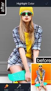 photo retouch photo background changer blur pictures editor black white splash color