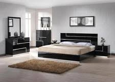 bedroom furniture black. ju0026m lucca luxury black lacquer with crystal accents king bedroom set 3pcs modern furniture