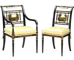 Regency Dining Chairs Style Furniture Hand Painted  Table Ebay Regency Style Furniture I92