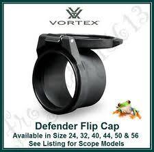 Vortex Flip Cap Size Chart Vortex Optics Defender Flip Caps Objective 50 Lens Cap