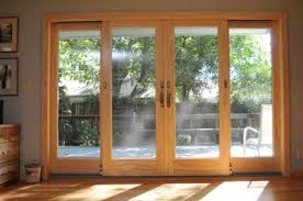 4 panel sliding glass patio doors.  Doors Andersen 4 Panel Frenchwood Gliding Patio Door Sliding Glass Doors  French With Panel Patio Doors L