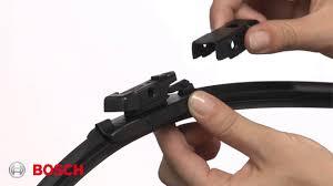 Bosch Icon Wiper Blade Chart Bosch Icon Top Lock Pivot Style Wiper Blade Installation