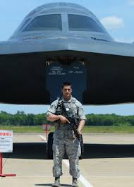 this week in military pictures the after action 5 1 2015 senior airman timothy starkey 2nd security forces squadron guards a b 2 spirit from whiteman air force base missouri during the 2015