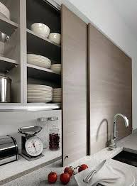 full image for 15 storage ideas to steal from high end kitchen systems sliding glass cabinet