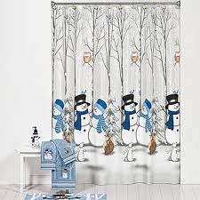 Winter Friends Shower Curtain and Hooks from Bed Bath & Beyond