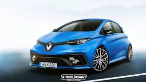 2018 renault zoe. perfect zoe renault zoe rs render with 2018 renault zoe