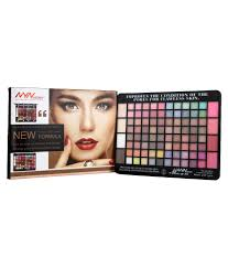nyn noyin waterproof makeup kit 80 eyeshadow 4 blusher