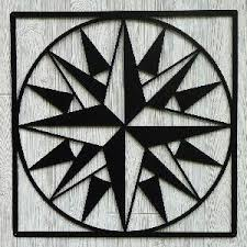 596 best barn quilts images on Pinterest | Bag, Barn art and Barn ... & Mariner's Compass Quilt Pattern History: Ancient Design. Idea for our barn  quilt. Adamdwight.com