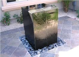 diy fountain or water feature live