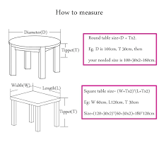 how to measure a round table size of round table for lot customize table cloth for how to measure a round table
