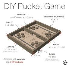 Wooden Game Plans