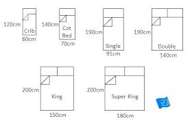 King Size Bed Measurements Full Size Bed Dimensions In Feet