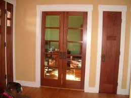 white trim and stained doors por white interior doors with stained wood trim with pros and white trim and stained doors
