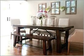 kitchen table with bench seating dining sets rustic