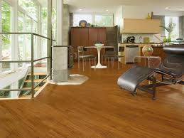 faux wood luxury vinyl flooring in living room