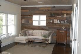 reclaimed lumber accent walls gleman