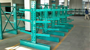 Powder Coating Rack Powder Coat Paint Finish Cantilever Lumber Racks Metal Racking System 65