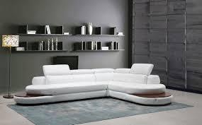italian leather furniture stores. Divani Casa Killian Modern White Italian Leather Sectional Sofa Furniture Stores