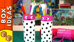 Box Decorating Ideas For Kids DIY Gift Box Pencil Couple Craft Ideas For Kids on Box 10