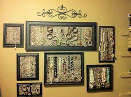 Jewelry Wall Organizer Wall Jewelry Organizer All Home Design Ideas Best Jewelry