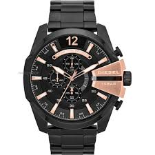 "men s diesel mega chief chronograph watch dz4309 watch shop comâ""¢ mens diesel mega chief chronograph watch dz4309"
