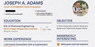 College Student Uses Dating Resume To Score Himself A Date AskMen Beauteous Dating Resume