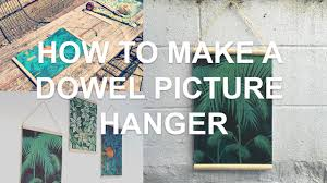 how to make a dowel picture hanger diy wooden photo frame chris martin you