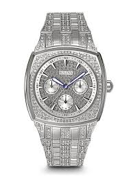 men s crystal watches bulova men s crystal watch