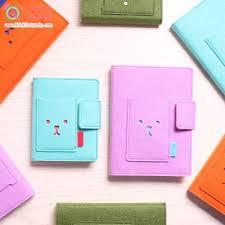 Creative Cute Korean Agenda Planner Organizer Wool Felt