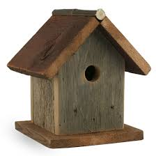 Birdhouse Barn Wood Bird House Foothills Wood Factory Garden Decor Made