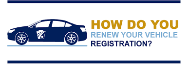how do you renew your vehicle registration graphic