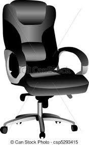 desk chair clipart.  Desk Office Chair  Csp5293415 With Desk Clipart F