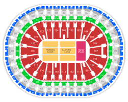 Centre Videotron Seating Chart Ticketroute Com