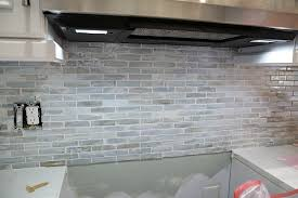 Installing Glass Mosaic Tile Backsplash Impressive Installing A Paper Faced Mosaic Tile Backsplash
