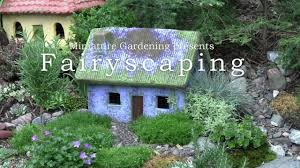 Small Picture Fairyscaping An Outdoor Fairy Cottage Garden YouTube